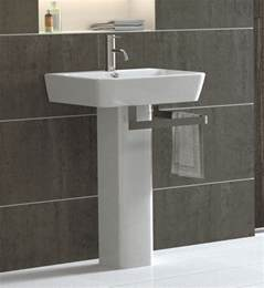 Modern Pedestal Sinks For Small Bathrooms Decorating Small Pedestal Sink By Kohler Pedestal Bathroom
