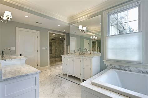 White Master Bathrooms by 10 Luxury White Master Bathrooms You Will To