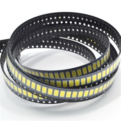 Smd Chip Led 5730 0 5w 3 2 3 4v Warm White 1 100pcs 0 5w smd 5730 led l chip high power white bead