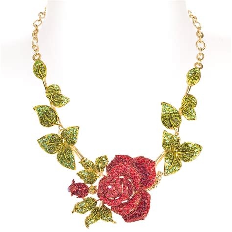 how to make flower jewelry ritzy single flower necklace ritzy
