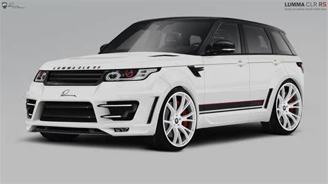 modified range rover sport lumma design range rover sport modified