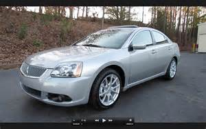 2012 Mitsubishi Galant Se 2012 Mitsubishi Galant Se Start Up Exhaust And In Depth