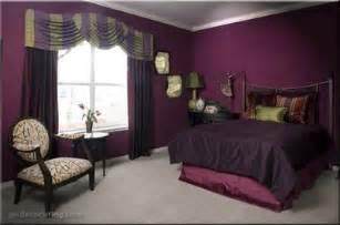 Dark Purple Bedroom Interior Design Bedroom Purple Wall