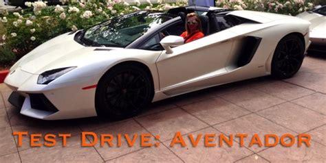 Test Drive Lamborghini Aventador Test Drive 2014 Lamborghini Aventador Convertible