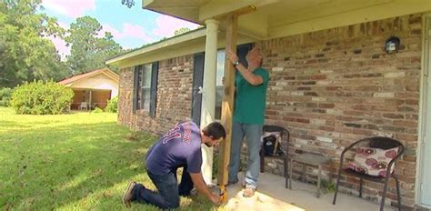 remove  replace  wood porch column todays homeowner