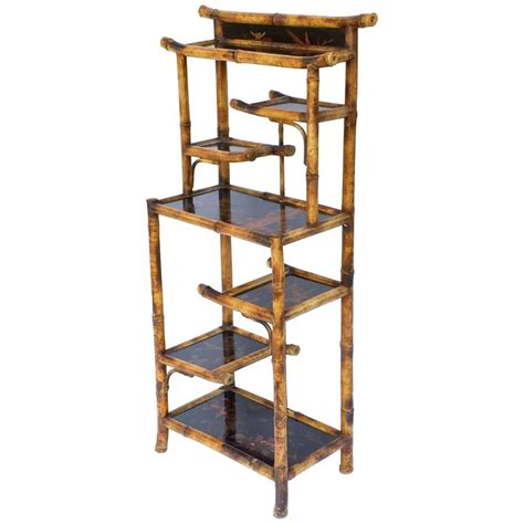 etagere in englisch bamboo etagere or shelves from the aesthetic