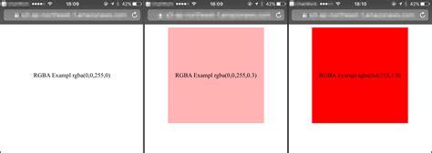 background color rgba safari 10 0 で cssカラーフォーマット rgbaと rrggbbaaがサポートされた