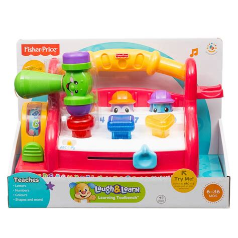 laugh learn tool bench fisher price laugh learn learning toolbench babyonline