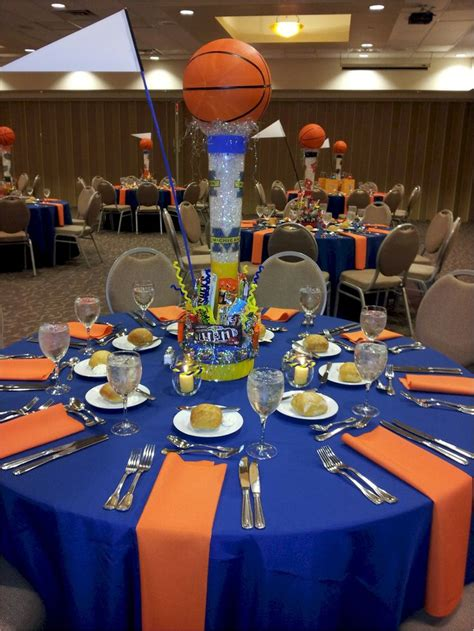 sports themed table decorations 17 best ideas about bar mitzvah centerpieces on