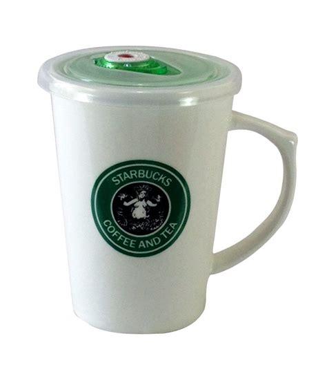 Starbucks Online Gift Card India - gift island white melamine starbucks sipper mug buy online at best price in india