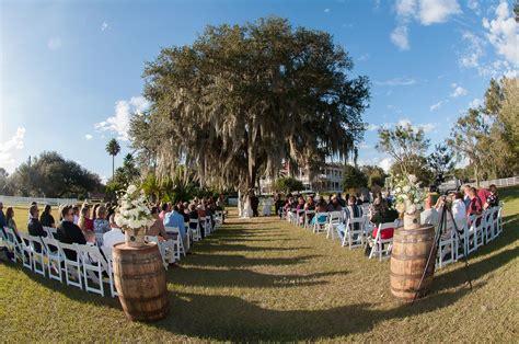 Wedding Venues Lakeland Fl by Orange Fall Rustic Lakeland Wedding Rocking H Ranch