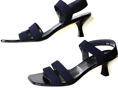 navy blue sandals free shipping listing stuart weitzman navy blue