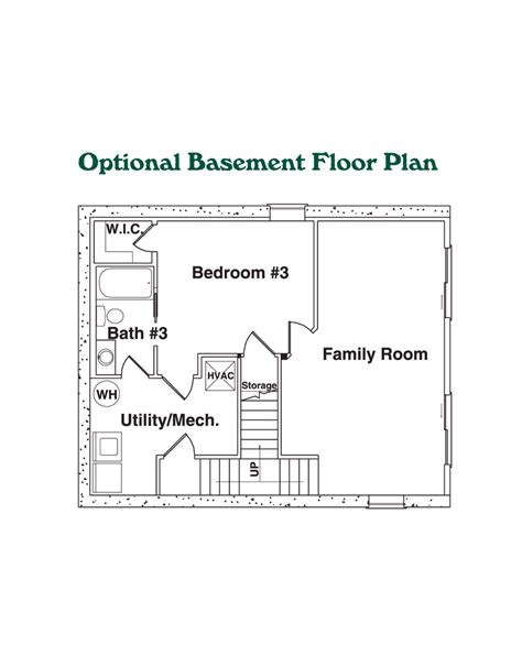 log home floor plans with basement the powell