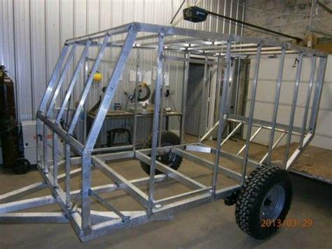 design trailer frame the aluminum frame was designed specifically for off road