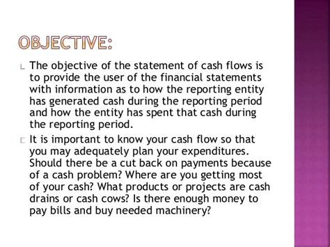 objectives of fund flow statement 28 objectives of flow statement