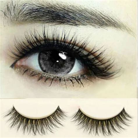 False Eyelash 10 pairs eye lashes makeup handmade thick
