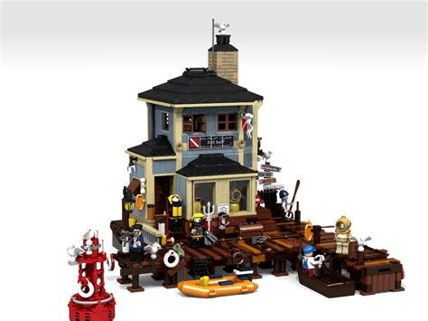 Lego A lego ideas the dive shop