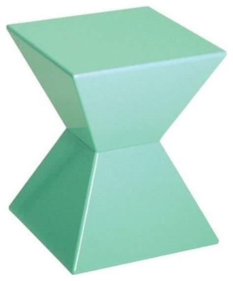 funky side tables edge funky mint green high gloss lacquered end table