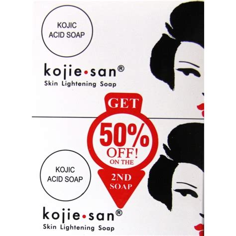 Serum Kojie San kojie san skin lightening soap pack edna