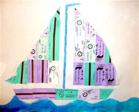 bateau arts plastique école maternelle