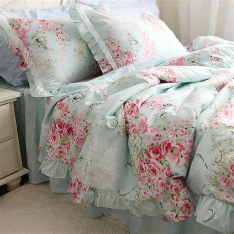rose comforters blue rose bedding set