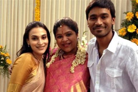 actor raja and his wife rare and unseen pics of dhanush with his family photos