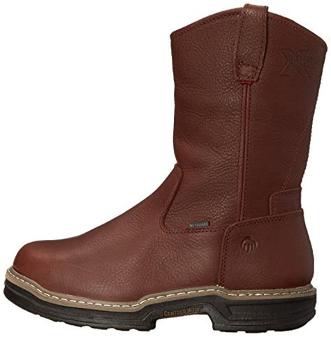 comfort shoes wellington mall wolverine men s darco wellington safety boot brown 13 m