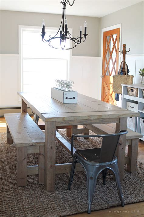 Farmhouse Desk by Diy Farmhouse Table Grows