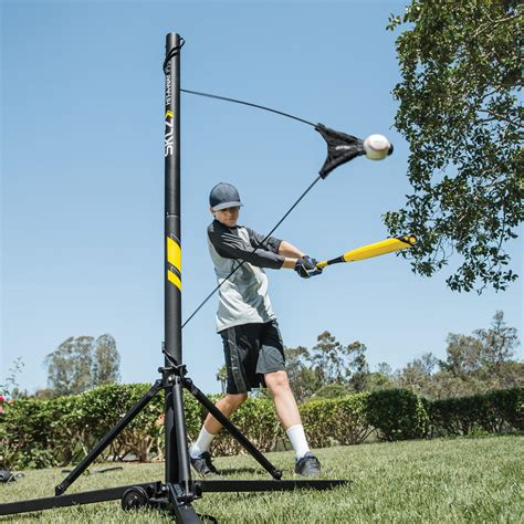 baseball swing trainer sklz hit a way portable baseball trainer for