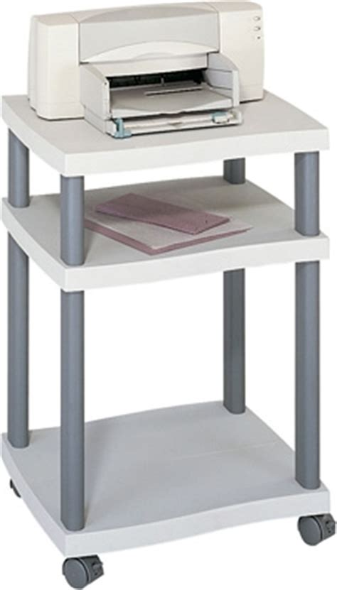 desk side printer stand safco wave desk side printer stand 1860gr engineersupply