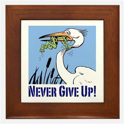imagenes never give up never give up frog gifts merchandise never give up