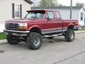 1994 Ford F150 Lift Kit My 1994 Ford F 150 With A 6 Inch Suspension Lift A 3 Inch