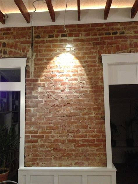 Brick Wainscoting reclaimed brick with wainscoting house ideas bricks and wainscoting