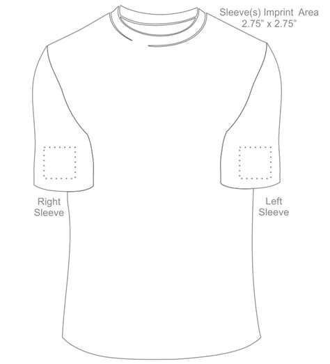 sleeve t shirt template s020r sleeve w pocket