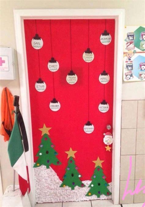 imagenes educativas puertas navidad las 25 mejores ideas sobre puertas decoradas de navidad