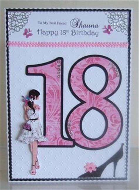 18th Birthday Card Ideas Handmade - best friend 18th birthday by emerald isle embossed and