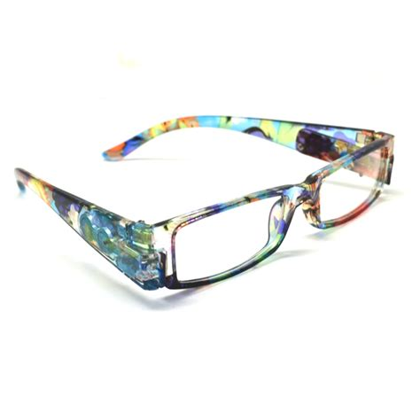 2pairs lot 2013 new colored lenses led reading