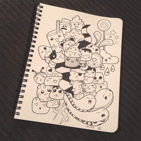 kawaii sketchbook kawaii sketchbook doodles from thethumbprint
