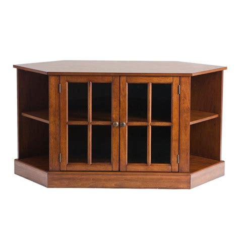 home decorators collection cherry 5 shelf corner stand jw