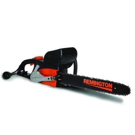 remington 18 in 12 corded electric chainsaw 18in log