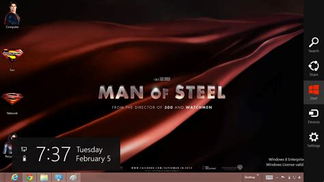 superman themes for windows 10 superman man of steel 2013 theme for windows 8 ouo themes