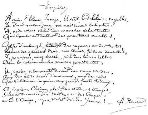 Poème Le Dormeur Du Val by Anniversaire D Arthur Rimbaud Mo 239 Cani L Od 233 Onie