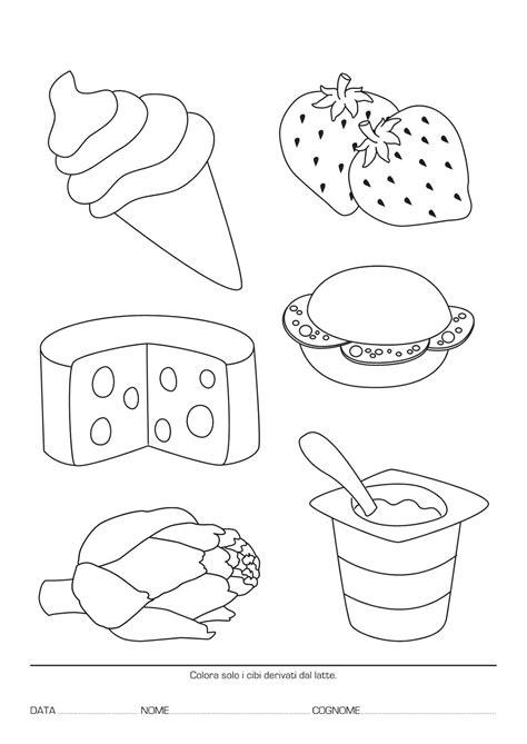schede alimentazione la maestra educazione alimentare