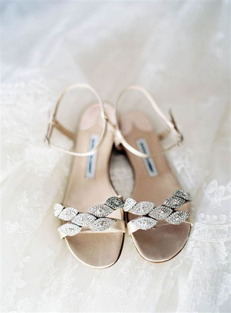 jeweled sandals for wedding jeweled flat bridal sandals by manolo blahnik for the