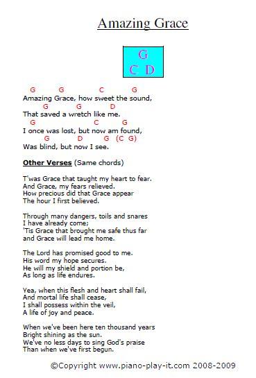 tutorial piano amazing grace amazing grace sheet music and piano tutorial