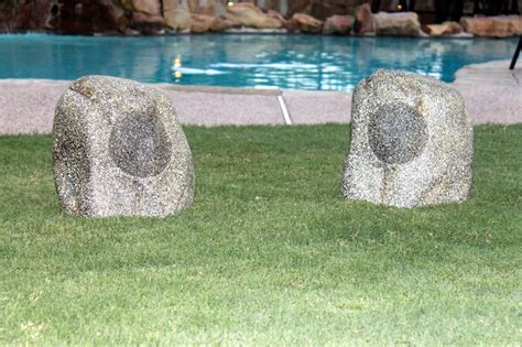 Garden Rock Speakers Wireless Bluetooth Rock Speakers Yardbright Landscape Lighting Garden Path And Outdoor Lighting
