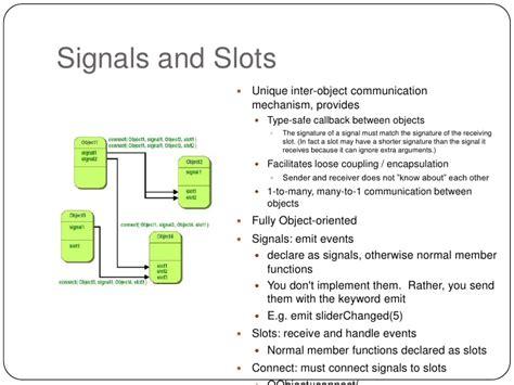qt tutorial events signal slot event