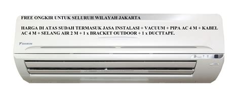Ac Daikin 1 2 Pk jual promo ac daikin 1 2 pk ft ne15mv14 freon r410a 390 watt baru ac air conditioner