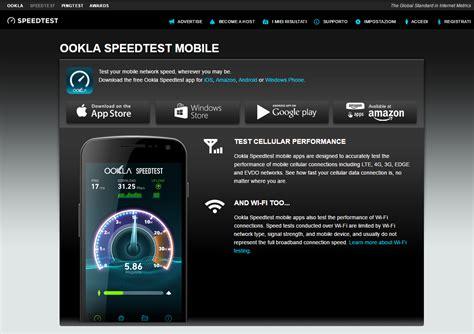 ookla speedtest misura la velocit 224 della tua connessione