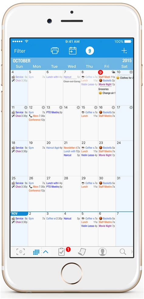 Calendar App Month View Iphone Image Gallery Iphone Calendar App Month